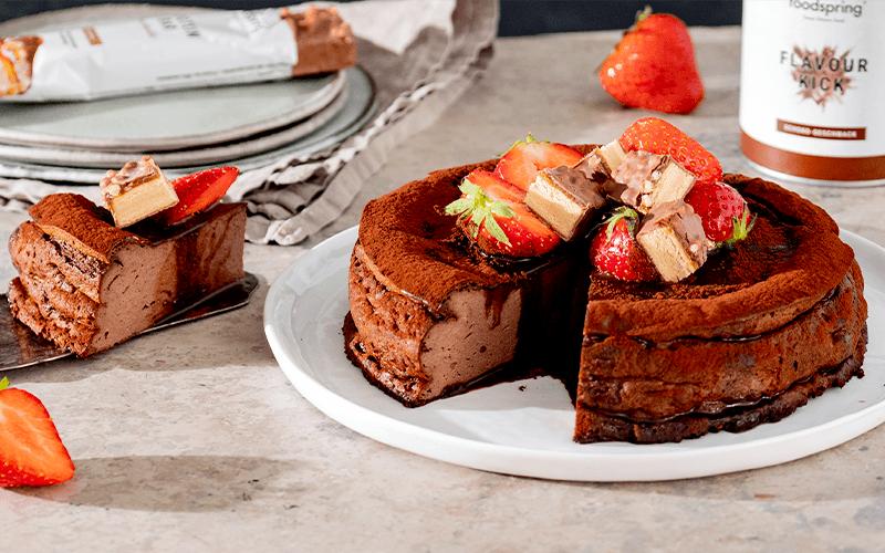 gâteau au fromage chocolat