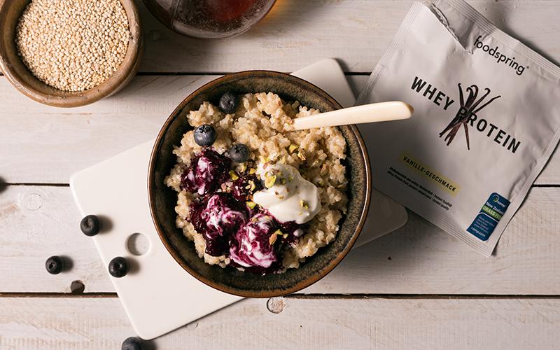 quinoa en porridge