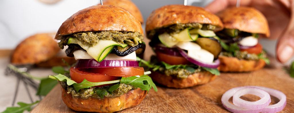 mini burger veggie