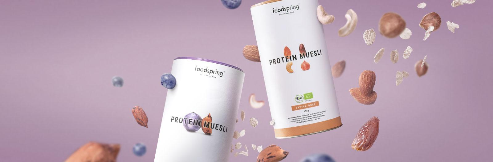 Le proteine croccanti.