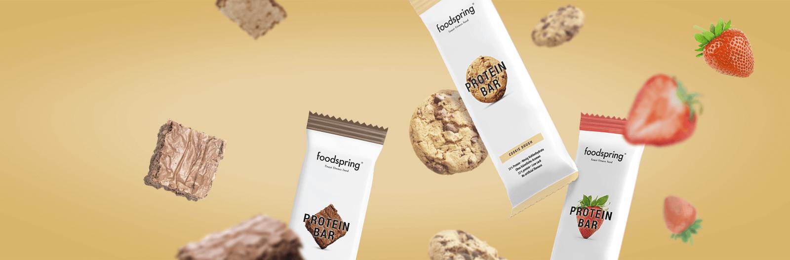Protein-Snack ohne Nonsense.