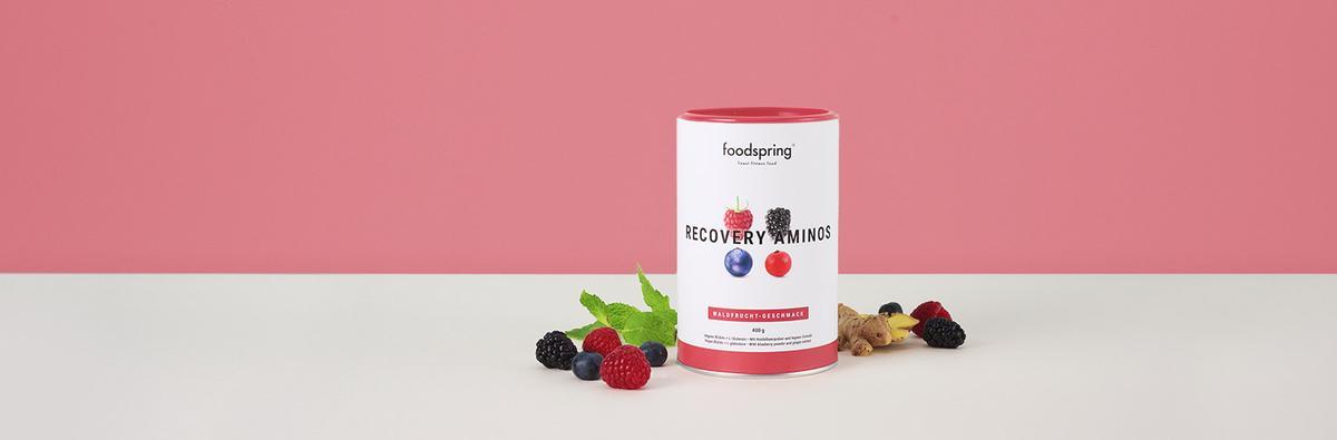 Neuer Waldfrucht-Geschmack für saubere Recovery.