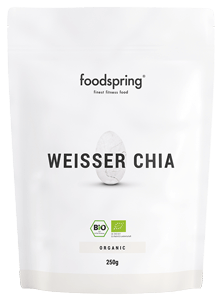Weisse Bio Chia Samen Das Fitness-Superfood