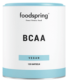 BCAA capsules Essential amino acids for your muscles