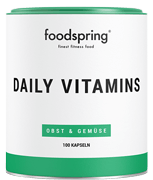 Daily Vitamins Daily vitamin supply