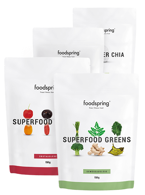 Superfood-Paket Tüten