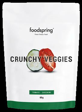 Crunchy Veggies Crisps for athletes