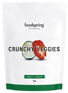 Crunchy Veggies Crisps for athletes