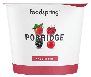 Protein Porridge Waldfrucht To Go Becher
