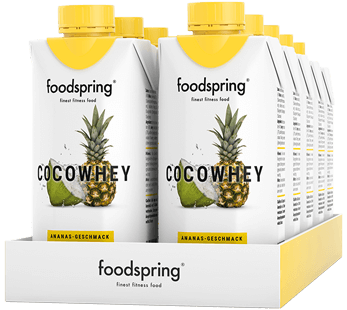 CocoWhey Ananas-Geschmack 12er-Paket