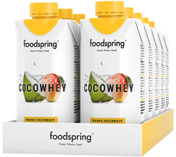 CocoWhey Mango Flavour 12 Portion Pack