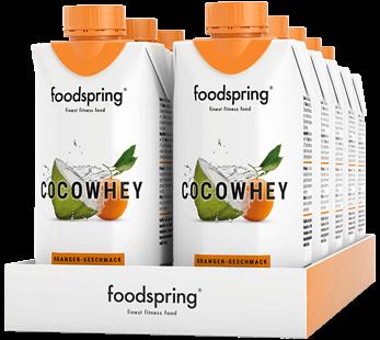 CocoWhey Orange Flavour 12 Portion Pack