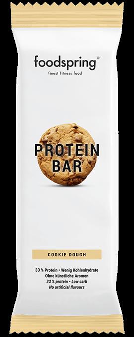 foodspring Protein Bar Verpackung