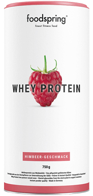 Whey Protein Himbeere Dose