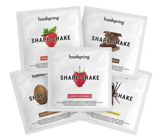 Shape Shake taster pack For a great figure: Shape Shake