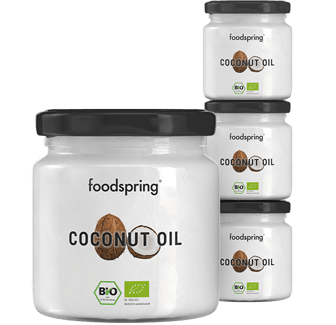 Organic Coconut Oil 4-Pack