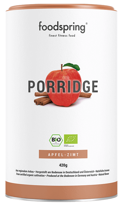Protein Porridge Apfel-Zimt Dose