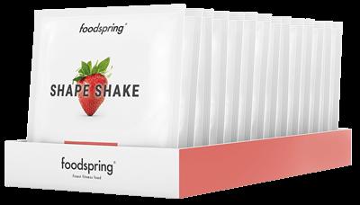 Shape Shake à emporter fraise