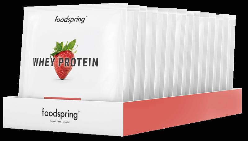 Whey Protein To Go 15er Paket Erdbeer-Geschmack