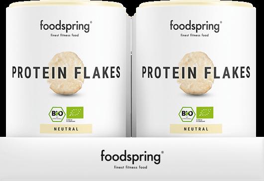 Protein Flakes 4er Paket