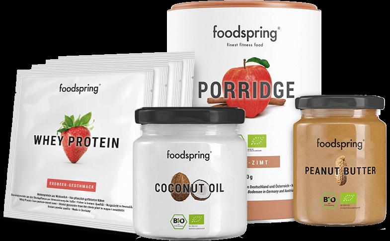 runtastic x foodspring Paket
