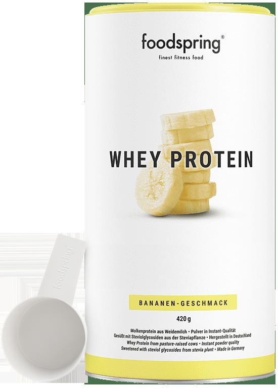 Whey Protein Banane