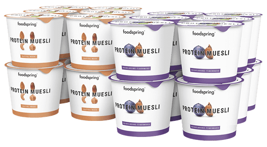 Protein Muesli 12 Pack Your fitness breakfast on the go