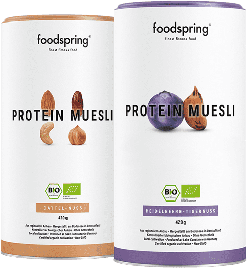 Protein Muesli Your fitness breakfast