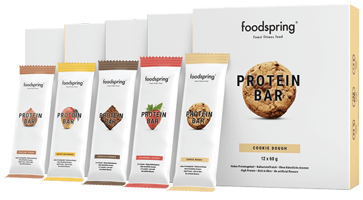 foodspring Protein Bar 12er-Paket