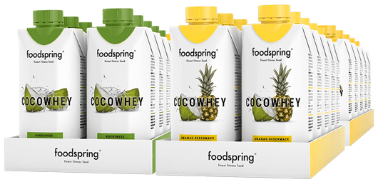 CocoWhey 12-Pack The isotonic protein drink