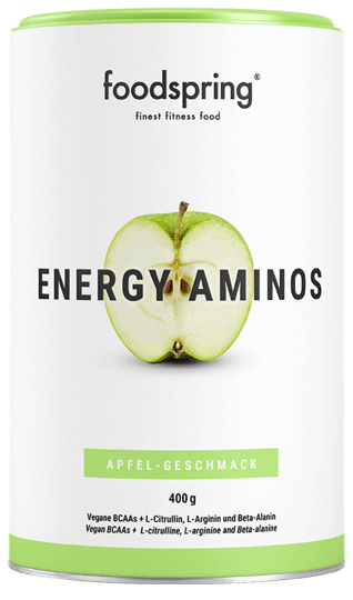 Energy Aminos saveur pomme