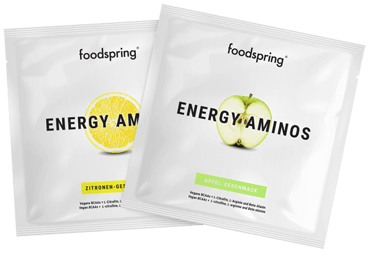 Energy Aminos To Go 100% workout booster. 0% chemicals.