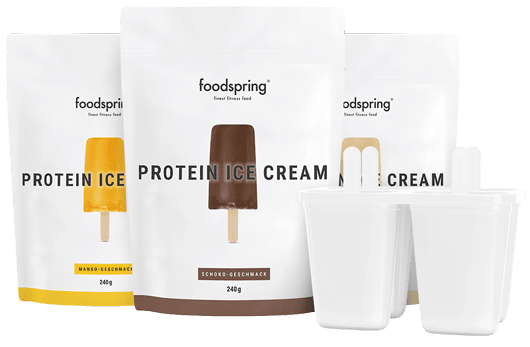 Protein Ice Cream Pack Your protein shake on a stick.