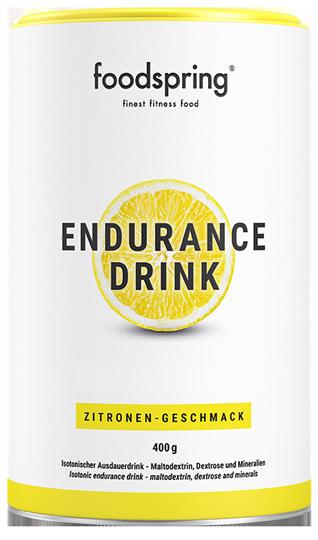 Endurance Drink Zodat je snel blijft.
