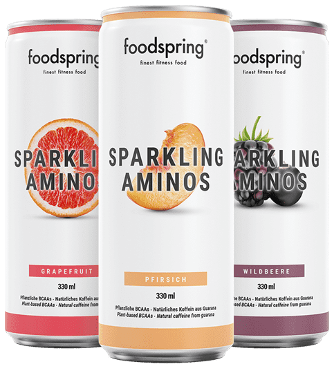 Sparkling Aminos The workout drink with real grapefruit