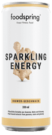 Sparkling Energy Water Ingwer-Geschmack