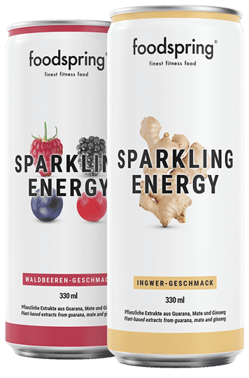 Sparkling Energy Water Dein cleaner Energy Drink für jeden Tag