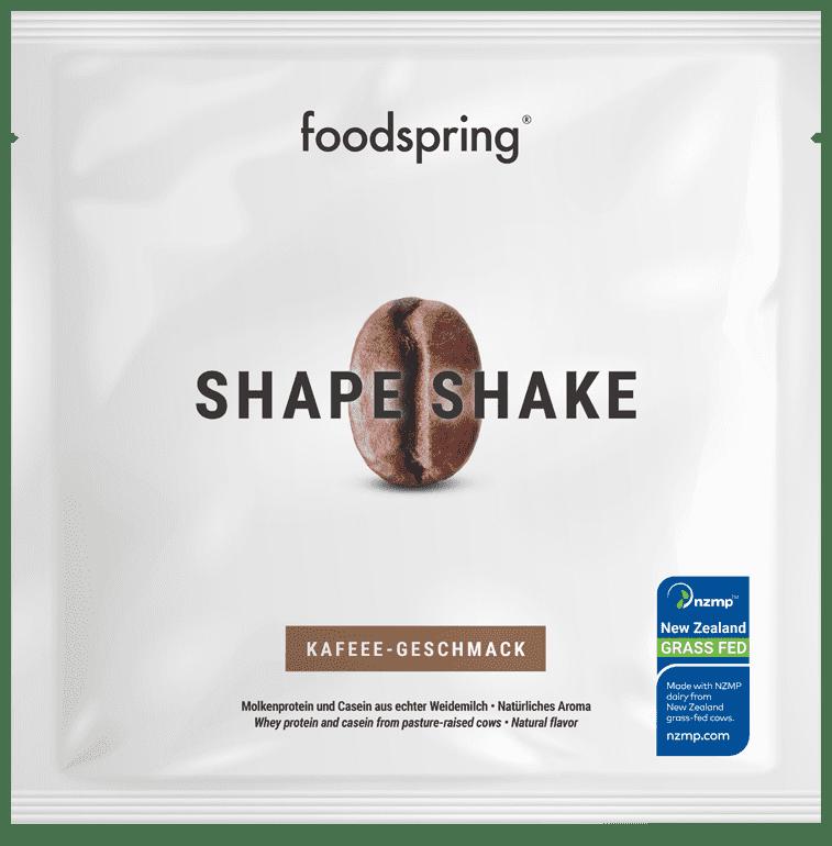 Shape Shake échantillon Café