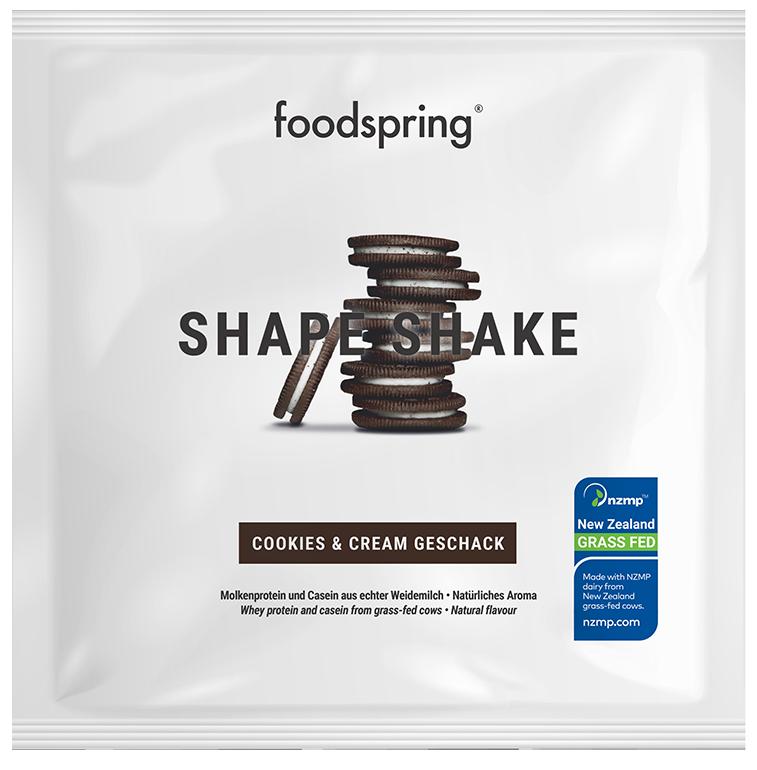 Shape Shake taster portion