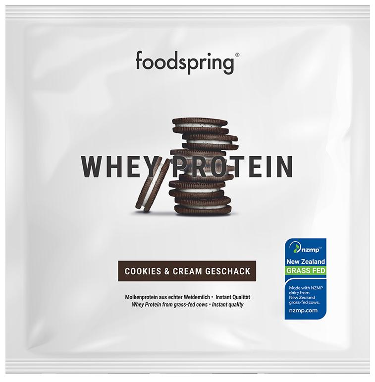 Muestra de proteína whey