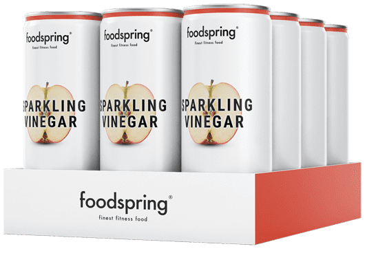 Sparkling Vinegar Water 12-pack Delicately tangy, feel-good refreshment