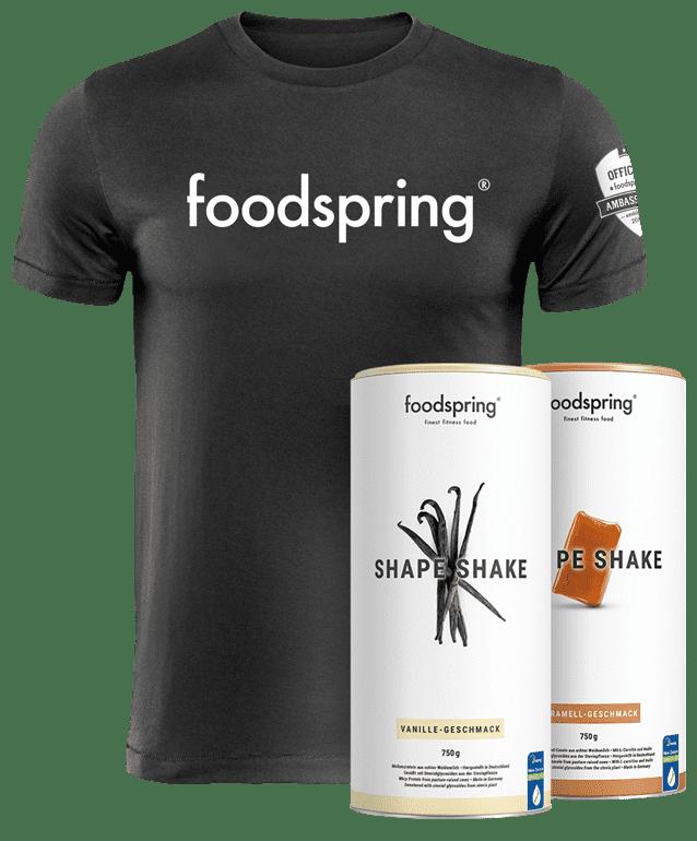 #foodspringfamily Paket Shape