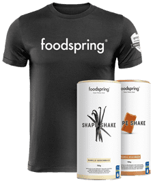 #foodspringfamily Paket Shape
