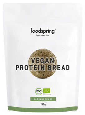 Pain protéiné vegan Un délicieux pain protéiné. Vegan et sans gluten.