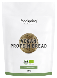 Vegan protein bread