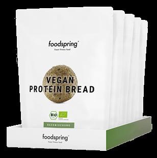 Veganes Proteinbrot Backmischung- glutenfrei