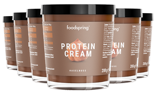 Protein Cream 6er Pack Chocolate spread with 85% less sugar