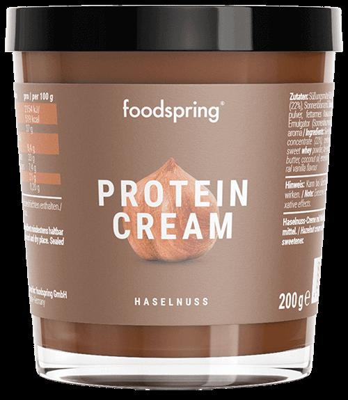 Crema di nocciole proteica