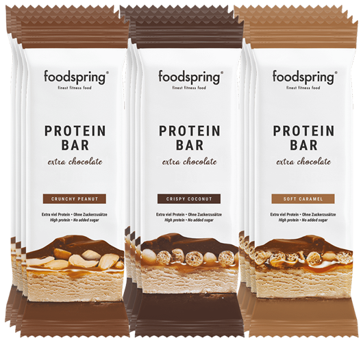 Protein Bar Extra Chocolate 12 Pack Mix The no-guilt chocolate bar