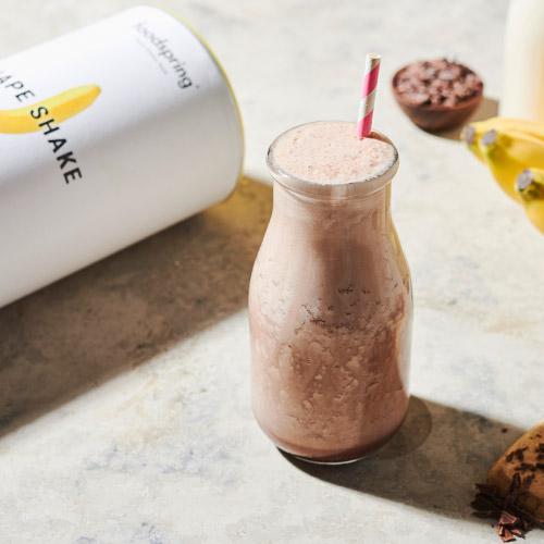 Natürlicher Protein-Shake für schnellen Gewichtsverlust